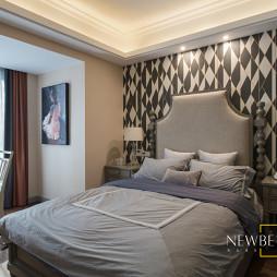 美式卧室壁纸设计图片