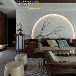 中式二居客厅桌椅图