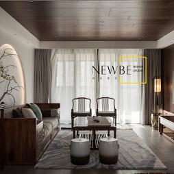 中式二居客厅桌椅图片