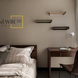 中式二居卧室隔板图片