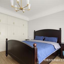 简美复式主卧室设计图片