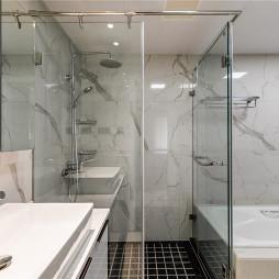 现代婚房卫浴设计图