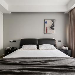 现代婚房主卧室设计图