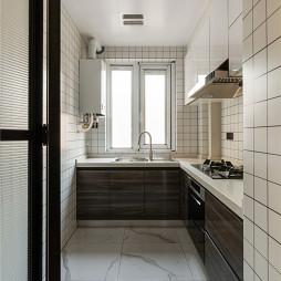 现代婚房厨房实景图片