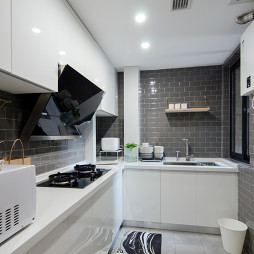 优雅现代小户型厨房设计图