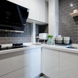 优雅现代小户型厨房图片