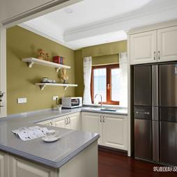 现代美式风格厨房图片