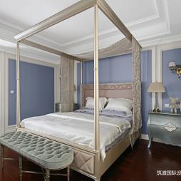 现代美式风格主卧室图片