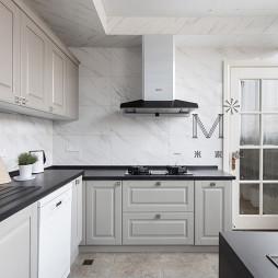 简洁美式复式厨房设计图