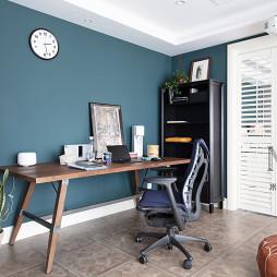 簡潔美式復式書桌設計