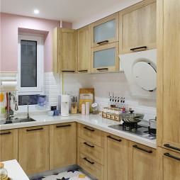 北欧小户型厨房实景图