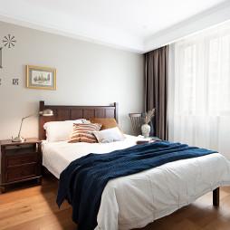 200㎡现代美式卧室设计图