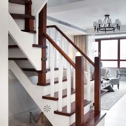200㎡现代美式楼梯设计