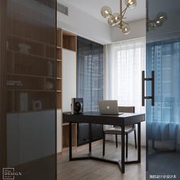 简单现代书房设计