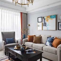 雅致美式客厅吊灯图片