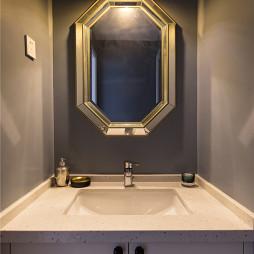 雅致美式卫浴洗手台设计