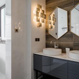 现代风大别墅卫浴设计