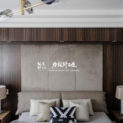 现代风大别墅卧室设计