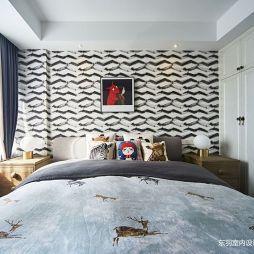 卧室背景装修图片