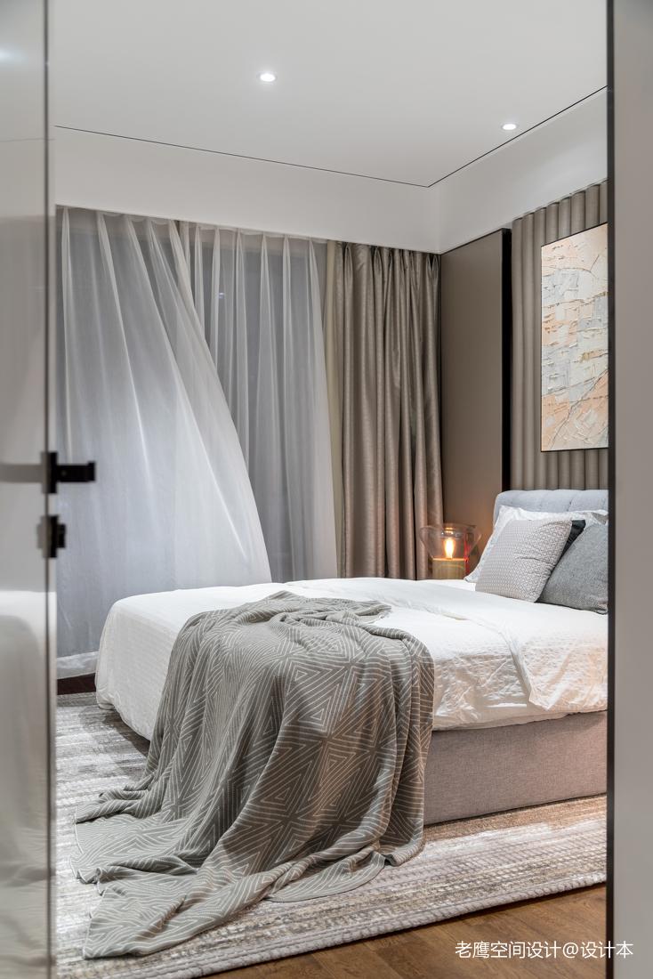 简约时尚卧室窗帘图