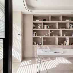 浪漫法式风书房设计图