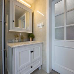 美式精致卫浴洗手台设计
