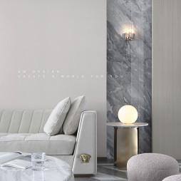 精简现代客厅设计图