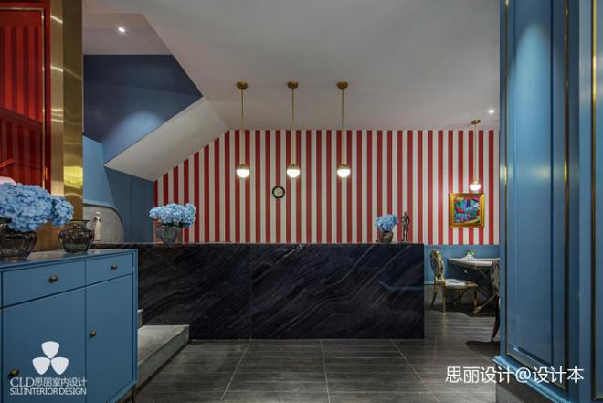 炉湘私厨餐厅吧台设计图