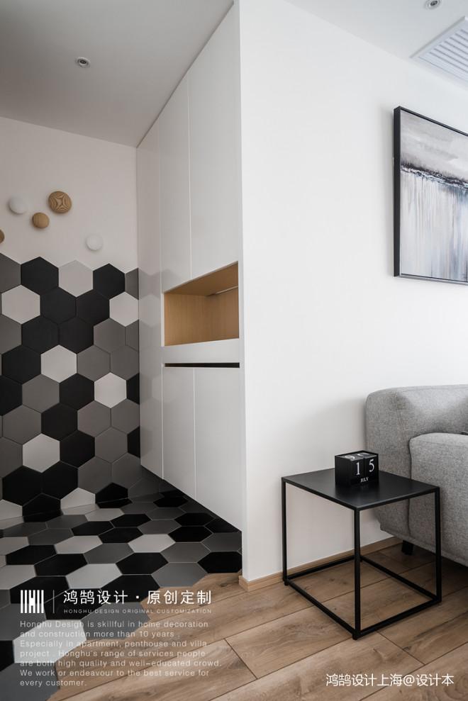 储物柜+楼梯,北欧原木风这么设计超实