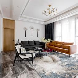 现代自建别墅客厅设计图片
