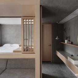 栖也· Habitat酒店洗手台设计图