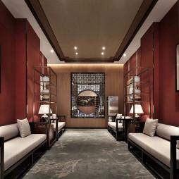 澜庭休闲酒店洽谈区设计图片