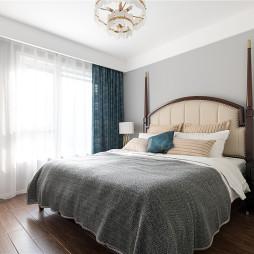 时尚美式主卧室设计图片