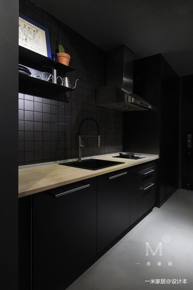 45㎡小户型现代厨房设计图