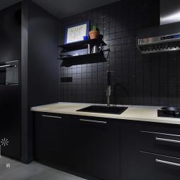 45㎡小户型现代厨房设计