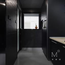 45㎡小户型现代厨房图片