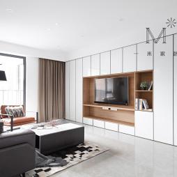 140㎡现代二居背景墙设计