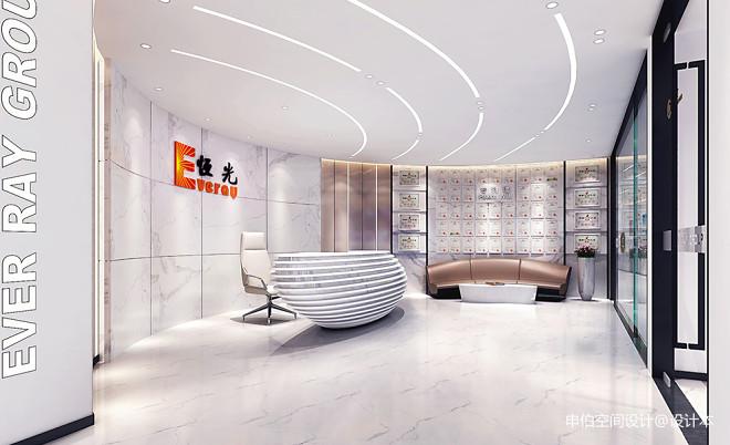 恒光集团公司办公室装修设计_3544