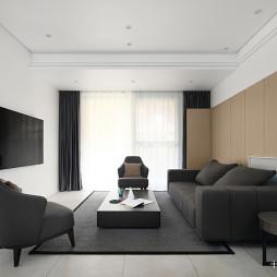 简洁现代别墅客厅设计图