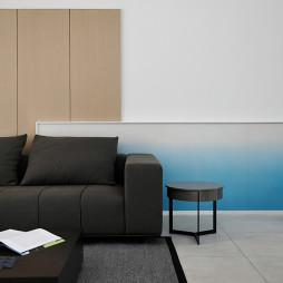 简洁现代别墅客厅实景图片