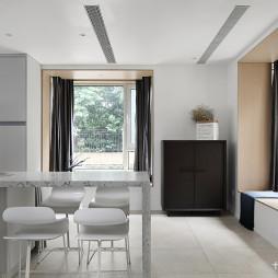简洁现代别墅吧台设计图
