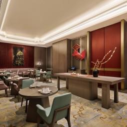 杭州临安万豪酒店中餐厅设计图