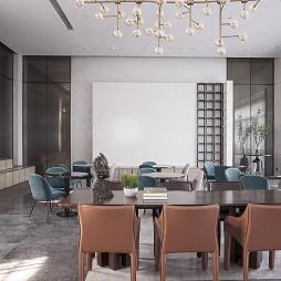 惠州中洲理想仓销售中心洽谈区设计