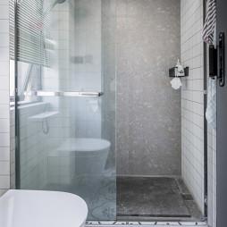 北欧风干湿分离淋浴房设计