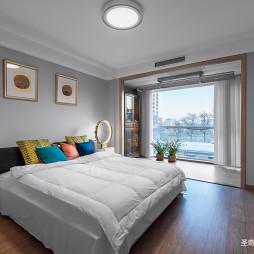古朴中式主卧室设计图