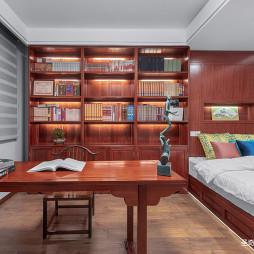 古朴中式书房设计