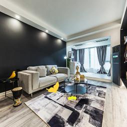 现代北欧客厅沙发图