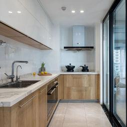 现代大厨房设计实景图片