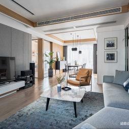 现代客厅实景设计