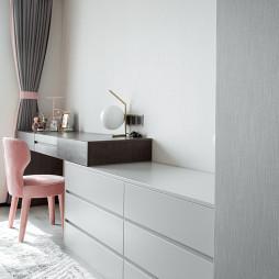 时髦精装现代卧室收纳设计